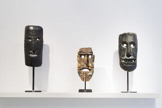 FACESHIFTING II:  Animistic Masks from the Himalayas, installation view