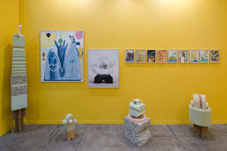 Agustina Ferreyra at ZⓢONAMACO 2017, installation view