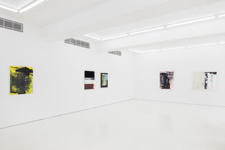 Marcus Eek: Tapetenwechsel, installation view