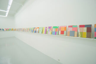 Patchworlds, installation view