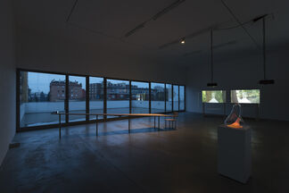 """GARY HILL """"Depth Charge"""", installation view"""
