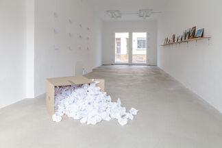Las pequeñas historias del Pueblo Cocopeme, installation view