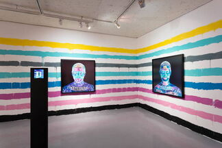 #Selfie_People who shoot themselves, installation view