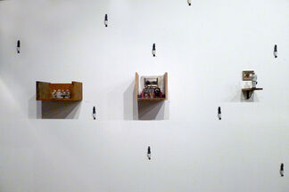 Isaac Cordal: Cement Eclipses, installation view