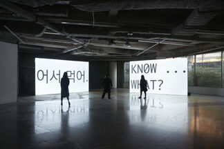 LIFE IN THREE EASY VIDEO TUTORIALS, installation view