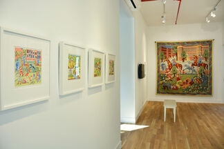 Ido Michaeli   From Sketch to Fabric, installation view
