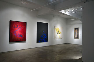 Norman Lewis: Canvas, installation view