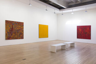 Lee Mullican, installation view