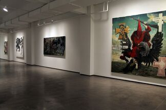 Manuel Ocampo: The Corrections, installation view