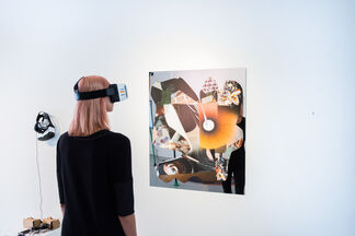 RESET III and VIRTUAL REALITY /curated by Tina Sauerländer (peer to space), installation view
