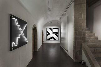 Morellet / Kawamata, installation view