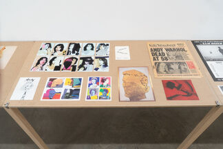 Downtown Art Ephemera, 1970s-1990s, Curated by Marc H Miller, installation view