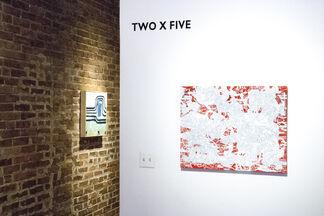 TWOXFIVE, installation view