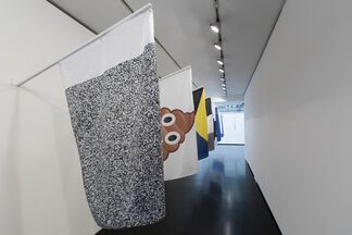 Les Drapeaux, installation view