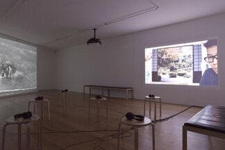David Claerbout, installation view