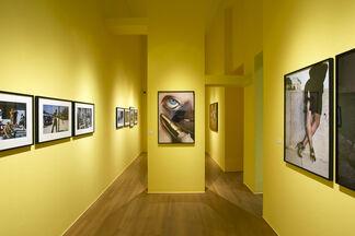 Helmut Newton - A Retrospective, installation view