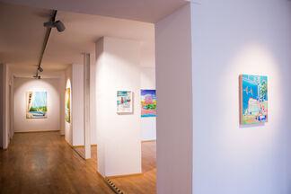 INTERGRADIENT ELEMENTS, installation view