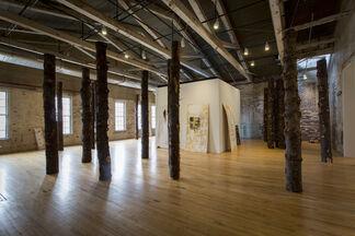 Allison Janae Hamilton: Pitch, installation view
