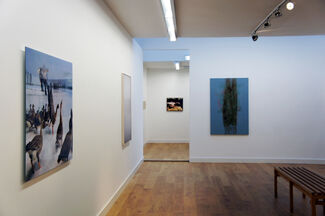 hunting. the world of intense concentration, installation view