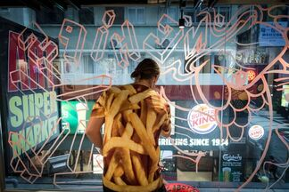 Fish 'n' Chips by Szabotage, installation view