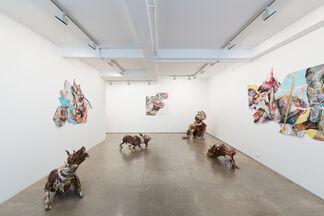 Lavar Munroe, Gun Dogs, installation view