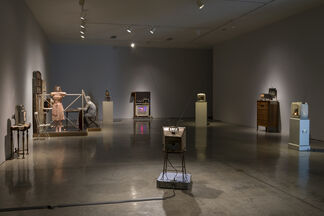 Kienholz Televisions, installation view