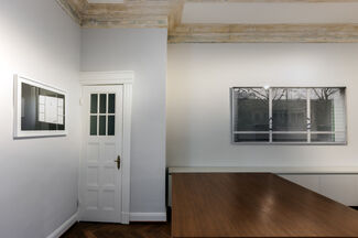 Sabine Hornig. Photographic Works and Models, installation view