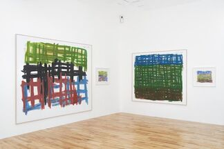 Günther Förg ' To London! A selection of paintings', installation view