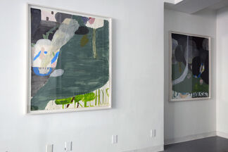 Jon Campbell: Crying Wolf, installation view