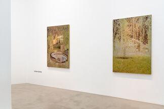 """Stefan Kürten """"Featured works: Through the mirror"""", installation view"""
