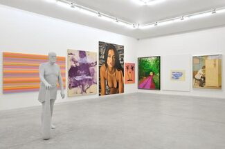 The Shell (Landscapes, Portraits & Shapes), a show by Eric Troncy, installation view
