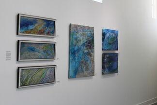 """""""Drawn Underwater"""" Margaret Ross Tolbert, installation view"""