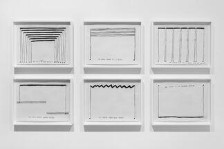 Christine Sun Kim: Rustle Tustle, installation view