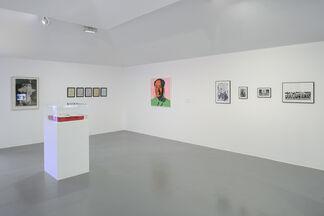 Glenn Ligon: Encounters and Collisions, installation view