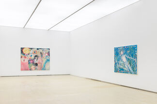 """Aya Takano """"The Ocean Inside, The Flowers Inside"""", installation view"""