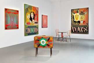 Aaron Rose: Cults, installation view