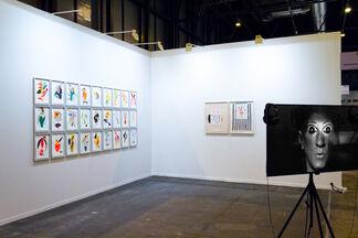 EASTWARDS PROSPECTUS at ARCOmadrid 2018, installation view