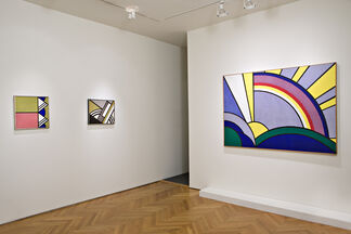 Roy Lichtenstein: Modern Paintings, installation view