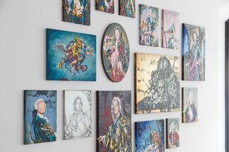 Lennart Grau – Straining Glory, installation view