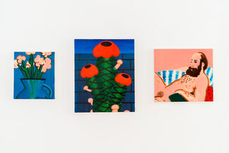 André Ethier + Jasmine Reimer, installation view