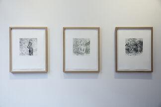 Lars Elling - Kroppsminne, installation view