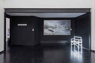 ANY COLOR YOU LIKE AS LONG AS IT'S WHITE, installation view
