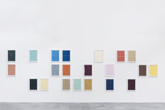 Mike Meiré : Grid Paintings Revisited, installation view