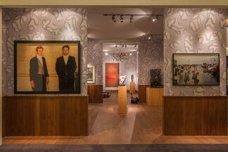 Paul Kasmin Gallery at TEFAF Maastricht 2015, installation view