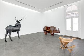 François-Xavier Lalanne, installation view