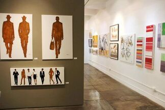 People in Motion, installation view