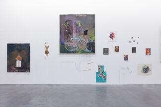 """Matthieu Ronsse - """"Quand je suis venu au monde, j'étais ton oeuf"""", installation view"""