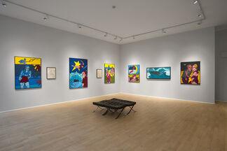 Valerio Adami : The Narrative Line, installation view