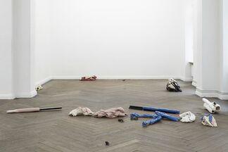 Charlotte Dualé: Die Putze, installation view