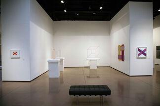 "Richard Anuszkiewicz - ""Variations: Evolution of The Artist's Media 1986 - 2012"", installation view"